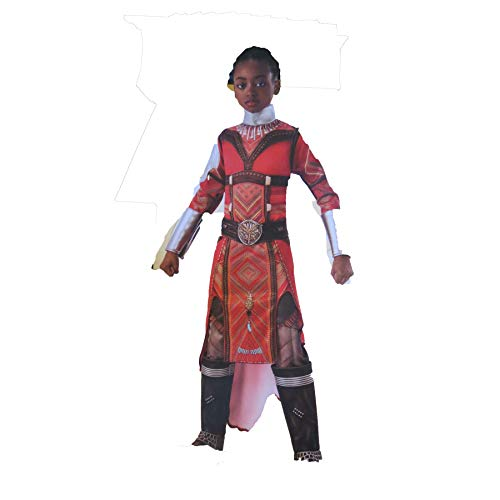 Rubis Girl's Black Panther Wakanda's Dora Milaje Halloween Costume (Large (12-14))]()