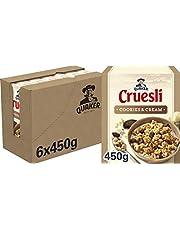 Quaker Cruesli Cookies & Cream, Doos 6 stuks x 450 g