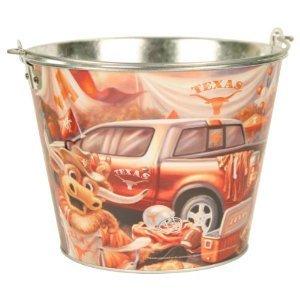 NCAA Licensed 5 Qt. Aluminum Tailgate Ice Bucket (Texas Longhorns) - Texas Tailgate Golf