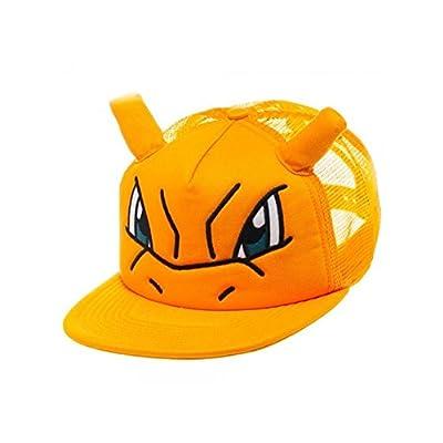 Superheroes Brand Pokemon Charizard Big Face with Ears Trucker Snapback Hat/Cap By