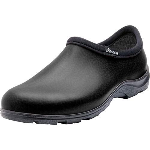 Sloggers Mens Plastic Clog (Black;12)