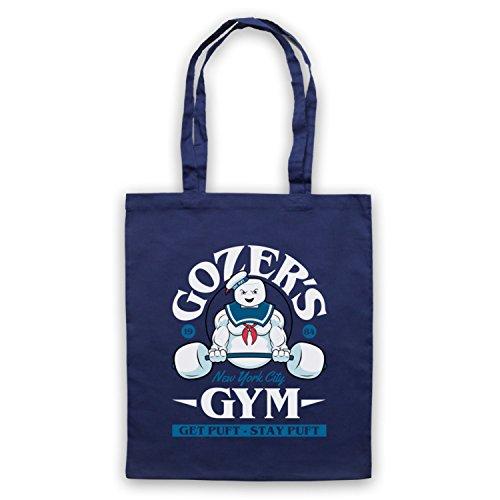 Ghostbusters Gozer's Gym Get Puft Stay Puft Bolso Azur Marino