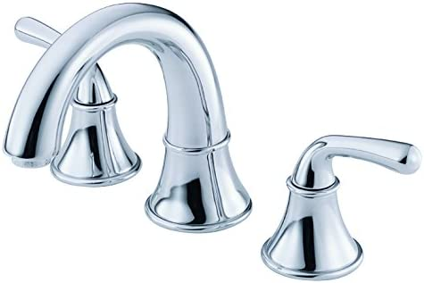 Danze D304156 Bannockburn Two Handle Widespread Lavatory Faucet, Chrome