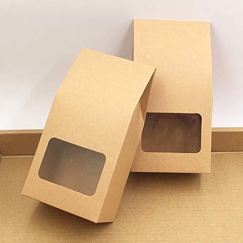 Amazon.com: Bolsas de papel kraft: 50 unidades de papel ...