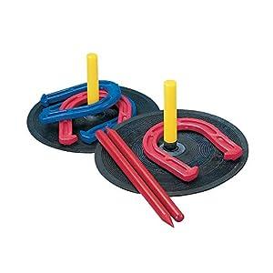 Champion Sports Rubber Horseshoe Set