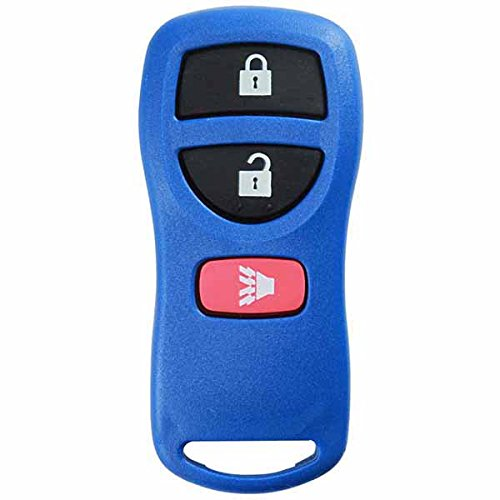 KeylessOption Keyless Entry Remote Control Car Key Fob Replacement for KBRASTU15, CWTWB1U733-Blue