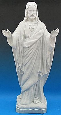 Outdoor Statue   Blessing Sacred Heart Of Jesus
