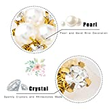 Asooll Bride Wedding Pearl Bead Hair Pins Bridal