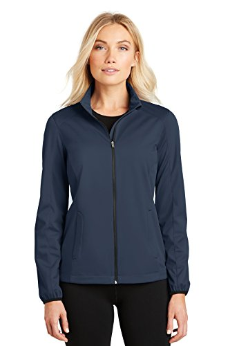 - Port Authority Ladies Active Soft Shell Jacket, Dress Blue Navy, Small