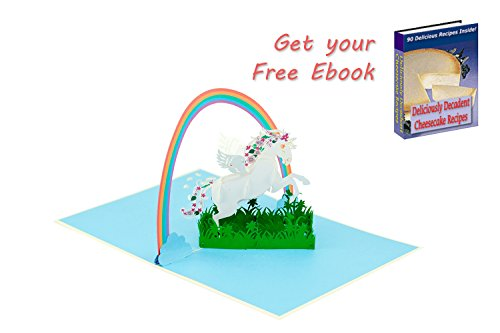 FAIRY UNICORN POP UP CARD| Magical Birthday Popup Cards for sale  Delivered anywhere in USA