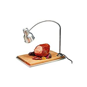 Amazon Com Carving Station With Heat Lamp And Drip Pan Cutting Boards Kitchen Amp Dining