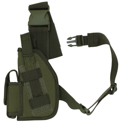 (Fox Outdoor Products SAS Tactical Leg Holster, Left, 4