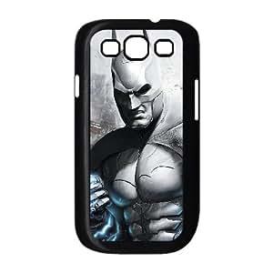 dark batman arkham city gamewide Samsung Galaxy S3 9300 Cell Phone Case Black 53Go-163534