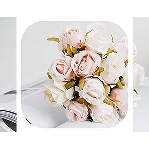 Memoirs- in Stock 2019 Wedding Flower Bridal Bouquets Three Styles Rose Flowers Bridesmaid Bouquet Ramos De Novia,Style A 41