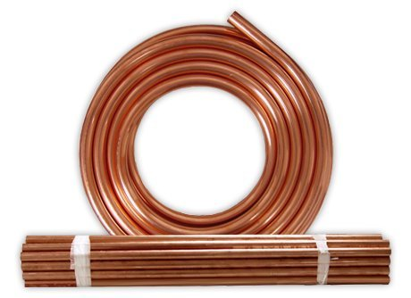 Soft refrigeration copper tubing 7/8'' X 50 Ft. by JMF (Image #1)