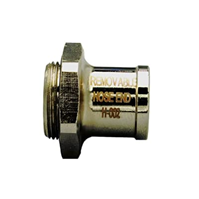 EZ (H-002) Silver Large Hose End: Automotive