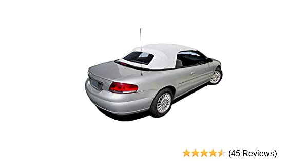 Chrysler Sebring Convertible Top With Plastic Window /& Video Sailcloth 1996-2006