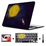MacBook Pro 15 Cover Colorful Dreamy Beautiful Painting Plastic Hard Shell Compatible Mac Air 11' Pro 13' 15' A1707 MacBook Pro Case Protection for MacBook 2016-2019 Version