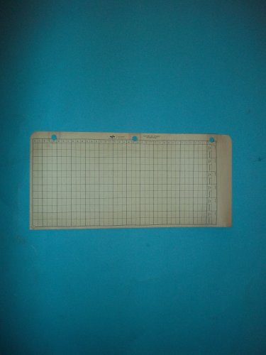 National 15-007 Count of Stock Inventory Sold in Bulk Packages of 12 Sheets by National Blank Book Company
