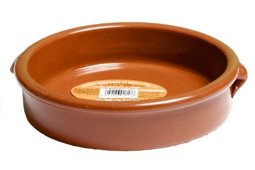 Terrissaires - Cazuela, Tonschale Braun Traditionell - 17 cm Durchmesser