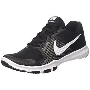 NIKE Flex Control Training Shoes Black/White/Dark Gray Size 11 M