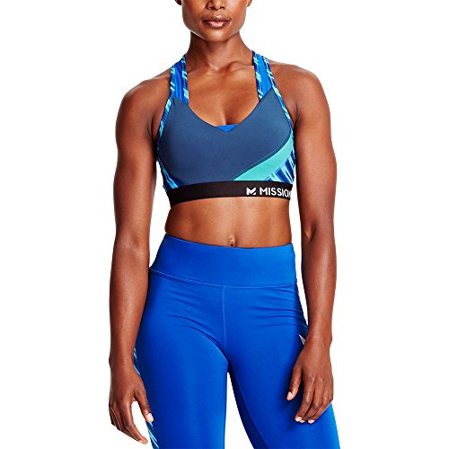 Mission Women's VaporActive Temper Racerback Medium Impact Sports Bra