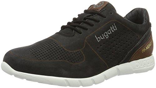 Bugatti K19015, Zapatillas para Hombre Negro (Schwarz 100)