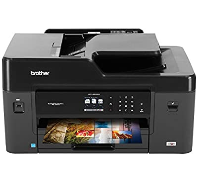 Brother Printer MFCJ6530DW Wireless Color Printer with Scanner, Copier & Fax