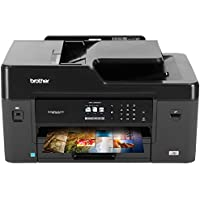 Brother MFC-J6530DW All-in-One Color Inkjet Printer, Wireless Connectivity, Automatic Duplex Printing, Amazon Dash Replenishment Enabled