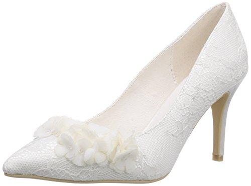 Menbur Wedding Lucia Damen Pumps Elfenbein (Ivory)
