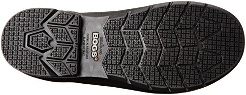 Bogs Men's Turf Stomper Insulated Work Boot, Black, 12 M US by Bogs (Image #3)