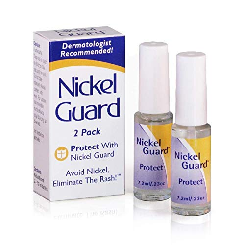 Jewelers Skin Guard - Nickel Guard - No Nickel - 2 Pack of Protective Coating Solution for Nickel Objects