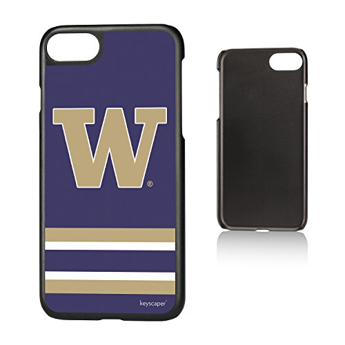 (Keyscaper Washington Huskies Slim Case for the iPhone 6/6S/7/8 NCAA)