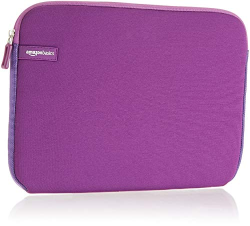 AmazonBasics 11.6 Inch Laptop Tablet Sleeve Case - Purple (Hp Slim Ultrabook Thin And Light Backpack)