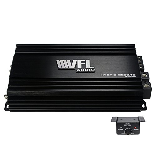 Image of Amplifiers American Bass VFLHYBRID28001D Vfl Hybrid Amplifier Linkable 2800 Watts D Class
