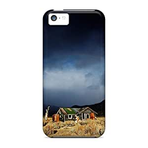 Premium Iphone 5c Case - Protective Skin - High Quality For Rainbow Clouds