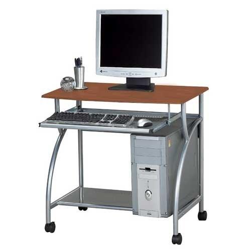 Mayline Eastwinds Argo Mobile Metal Computer Desk - Medium Cherry 947