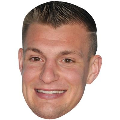 Rob Gronkowski Celebrity Mask, Card Face and Fancy Dress Mask (Celebrity Face Masks)