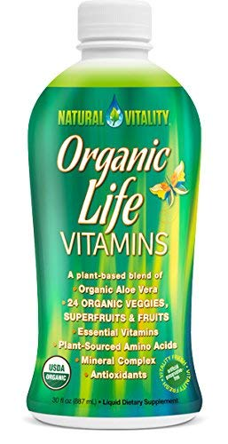 (Natural Vitality Organic Life Vitamins, (2 Bottles of 30 Ounce))