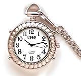 Divine Medical Silver Talking Pocket Watch