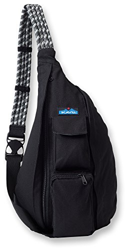 KAVU Rope Bag, Black,One Size