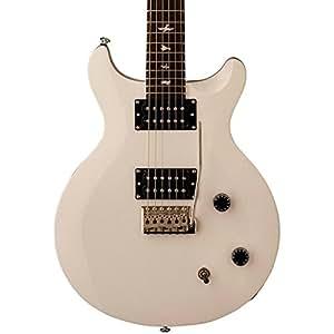 prs se santana electric guitar jet white musical instruments. Black Bedroom Furniture Sets. Home Design Ideas