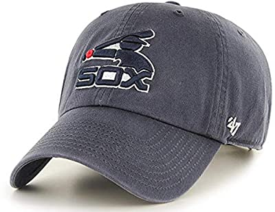 '47 Brand - Exclusive - MLB Chicago White Sox Cooperstown Vintage Graphite/Dark Gray CleanUp Size: OSFM Adjustable Dad Hat
