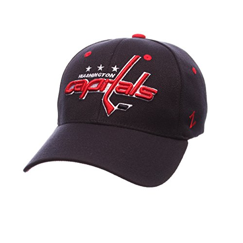 Zephyr NHL Washington Capitals Men's Breakaway Cap, X-Large, Navy