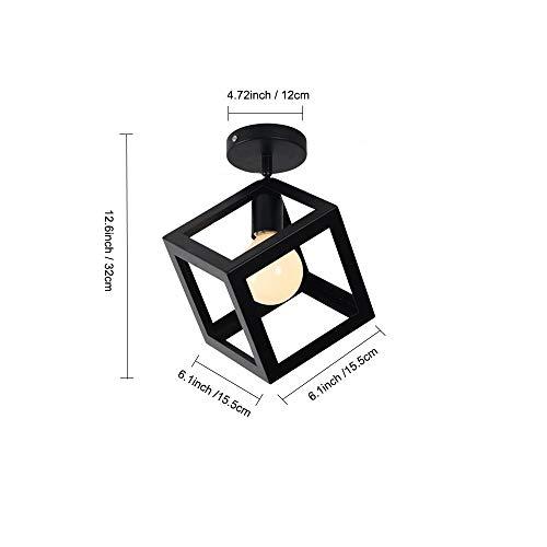 HELIn Luces de Techo Negras para Luces de Techo, Cubos de ...