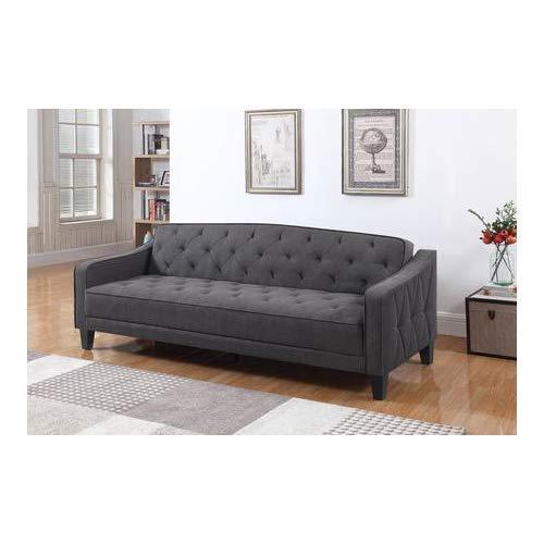 Coaster Home Furnishings 360016 Sofa Bed, Dark Grey/Cappuccino