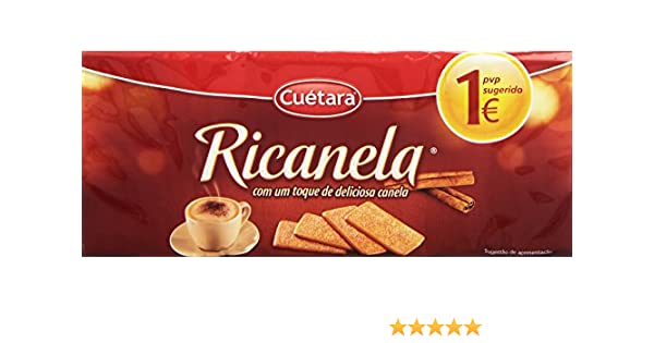 Cuétara Ricanela Galleta Napolitana - 213 g: Amazon.es ...