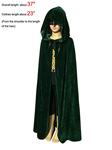 PENTA ANGEL Magic Halloween Christmas Party Vampire Hooded Cloak Cosplay Dress Costume Cape (37
