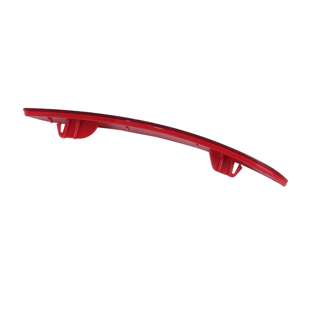 UPSM Rear Bumper Reflector Brake Warn Light Red Lens Right Side Fit for BMW F30 F31 F32 F33 F34 F35 F36 2011-2015 63147301188