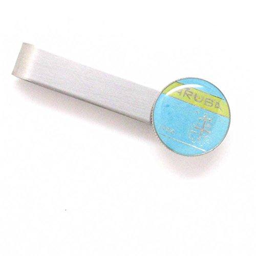 Aruba Coin Tie Bar Clip Tiebar